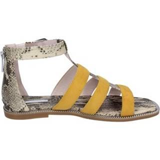 Sandále Gaudi  sandali camoscio pelle sintetica