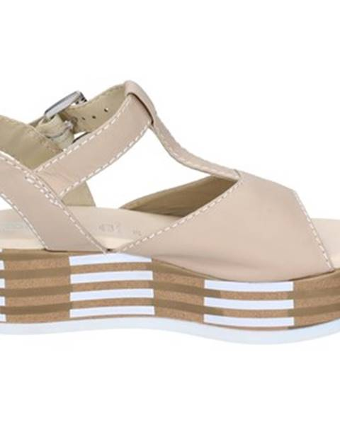 Béžové sandále Tredy's