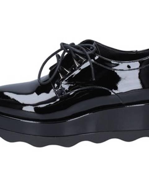 Čierne topánky Albano