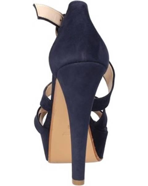 Modré sandále Bacta De Toi