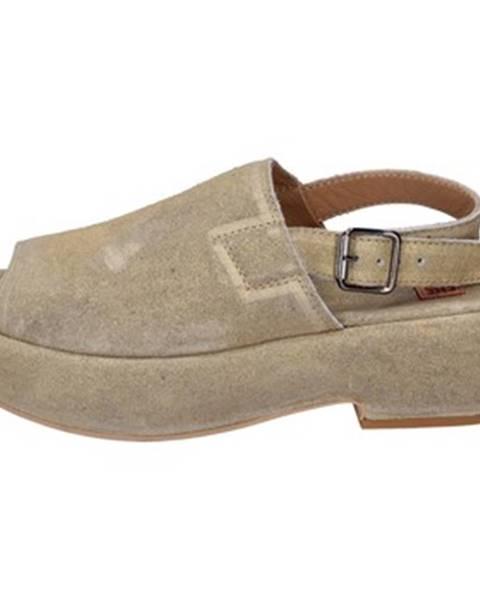 Zlaté sandále Moma
