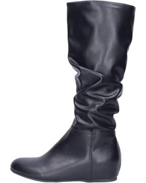 Čierne čižmy Francescomilano