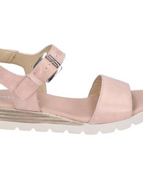 Ružové sandále Rizzoli