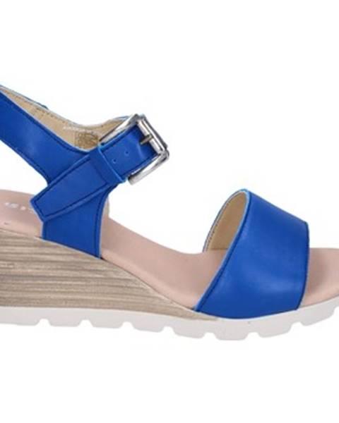 Modré sandále Rizzoli