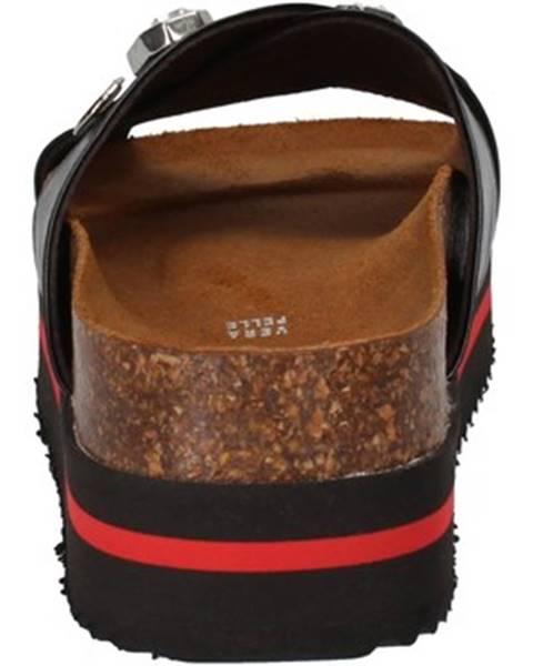 Čierne sandále 5 Pro Ject