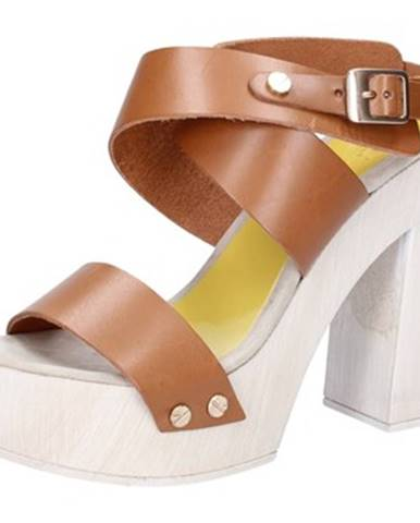 Sandále Suky Brand  sandali marrone pelle AC816