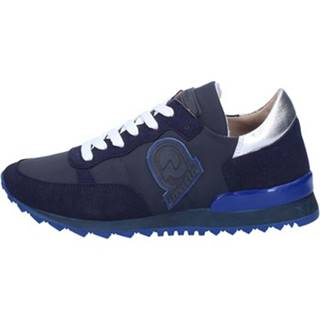 Módne tenisky Invicta  sneakers blu tessuto camoscio AB54
