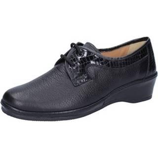 Nízka obuv do mesta Susimoda  classiche nero pelle vernice AD808