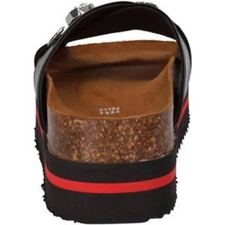 Sandále 5 Pro Ject  sandali nero pelle AC698