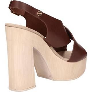 Sandále Suky Brand  sandali marrone pelle AC799