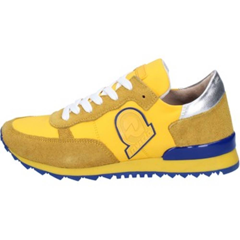 Invicta Módne tenisky Invicta  sneakers giallo tessuto camoscio AB53