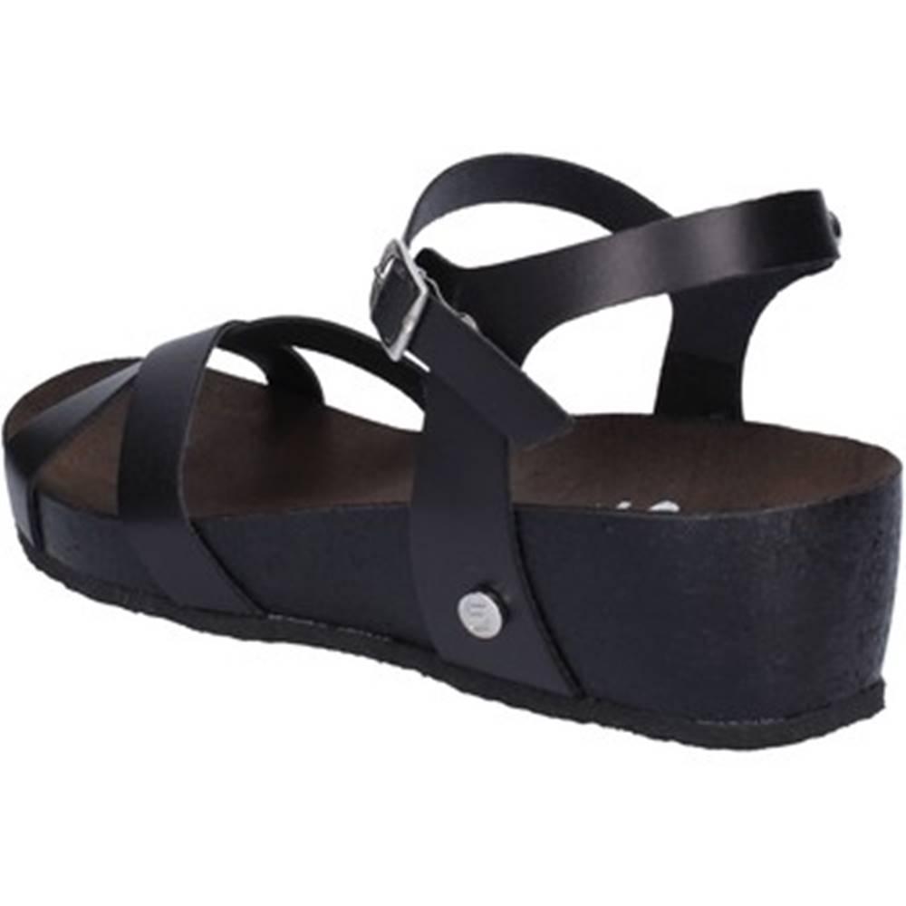 5 Pro Ject Sandále 5 Pro Ject  sandali nero pelle AC699