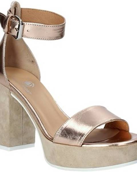 Ružové sandále Janet Sport