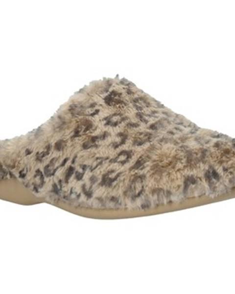 Béžové papuče Grunland