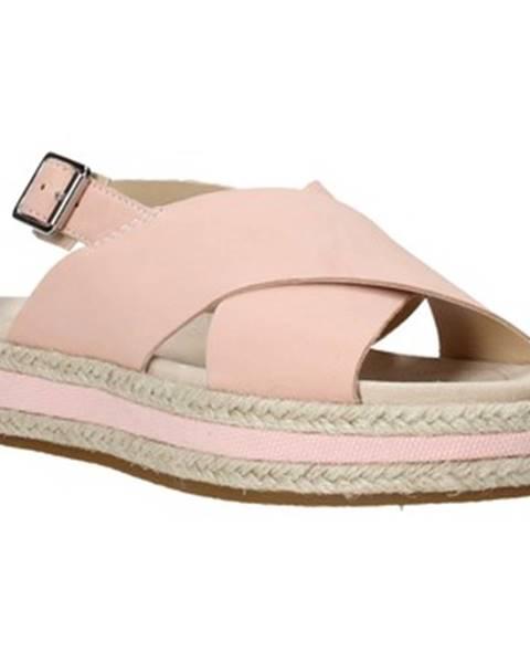 Ružové sandále Clarks