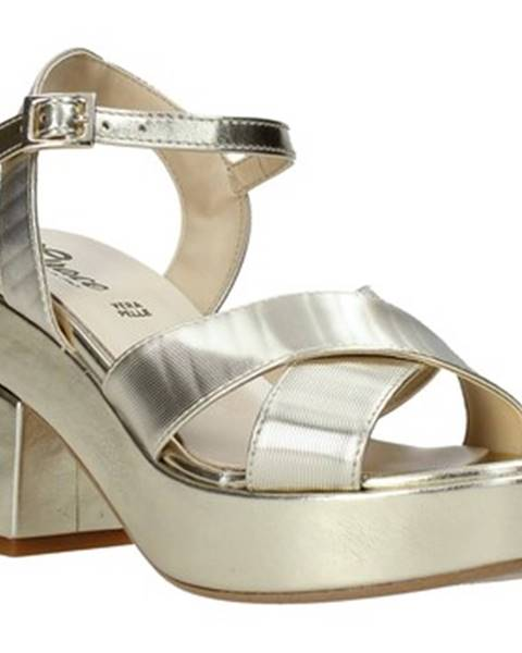 Zlaté sandále Grace Shoes