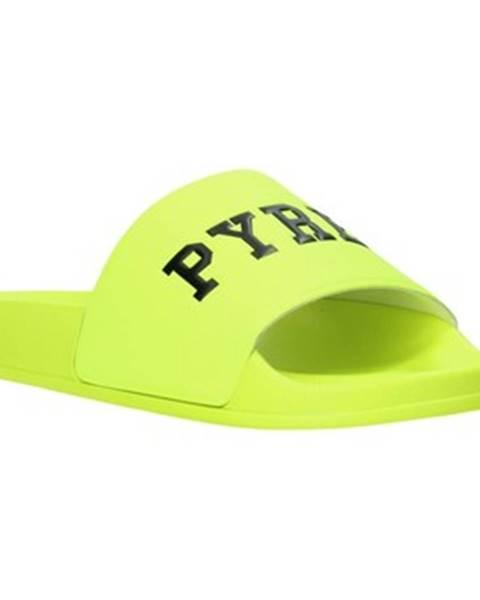Žlté topánky Pyrex