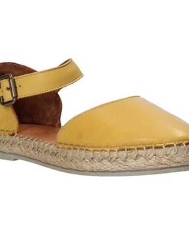 Žlté sandále Bueno Shoes
