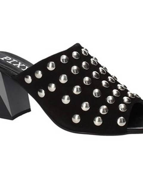 Čierne topánky Pixy Shoes