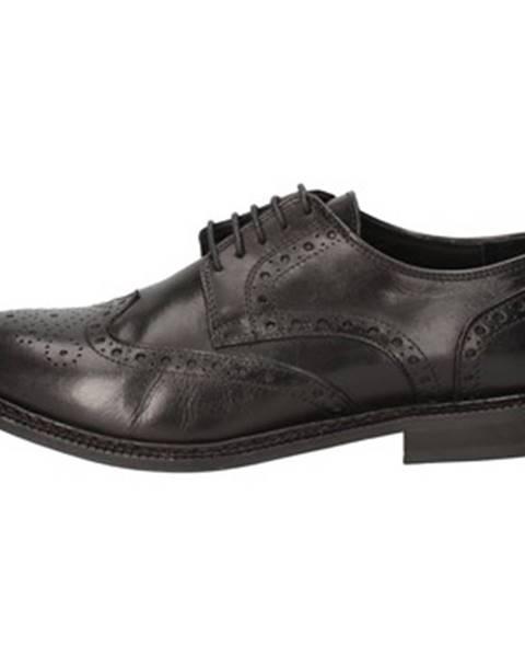 Čierne topánky Thomas Valmain