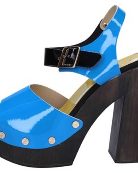 Modré sandále Suky Brand