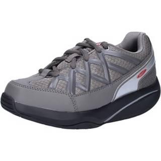 Nízke tenisky Mbt  sneakers grigio tessuto dynamic AB390