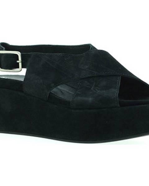 Čierne sandále Marco Ferretti