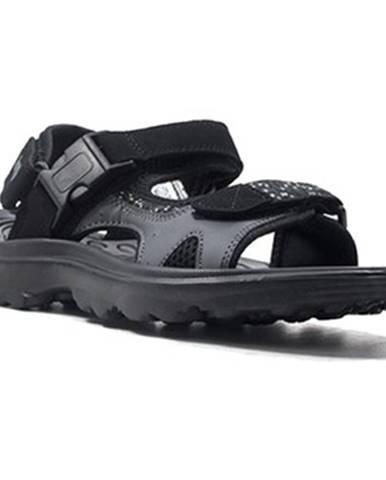 Čierne sandále Lotto