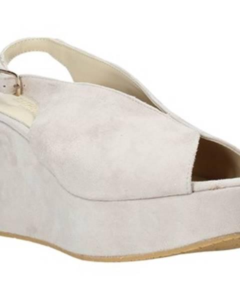 Béžové sandále Esther Collezioni