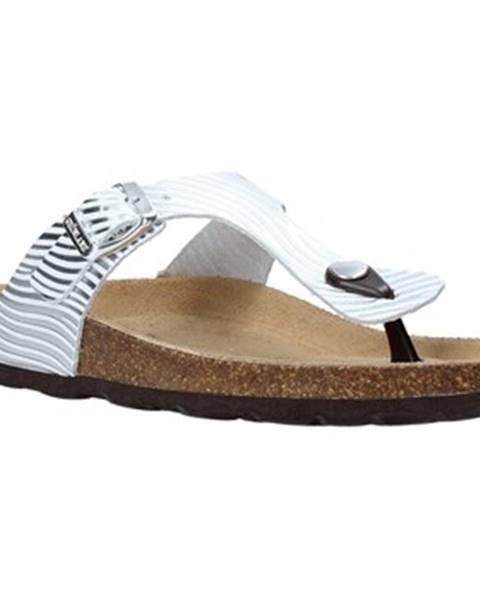 Strieborné topánky Grunland