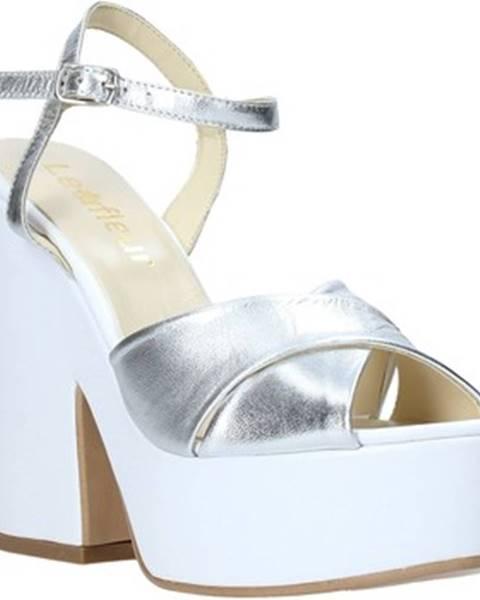 Strieborné sandále Esther Collezioni
