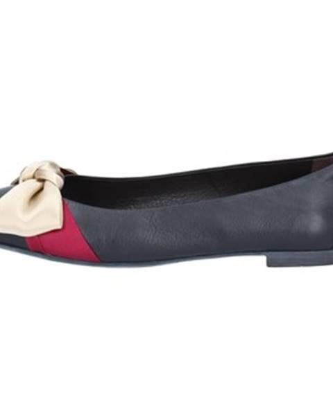 Čierne balerínky Bally Shoes