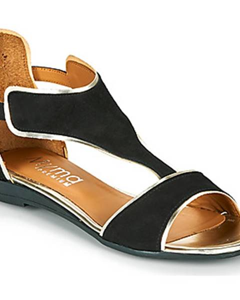 Čierne sandále Myma