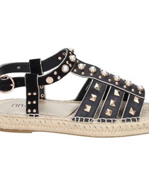Čierne sandále Liu Jo