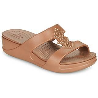 Šľapky Crocs  CROCSMONTEREYSHIMMERSLPONWDG W