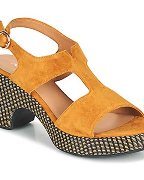 Hnedé sandále Adige