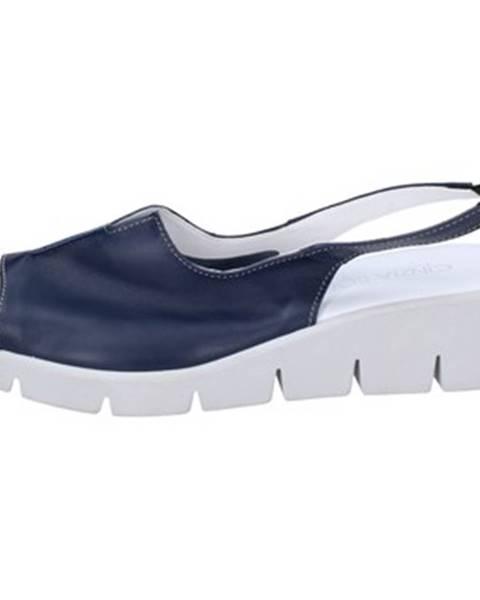 Modré sandále Cinzia-Soft