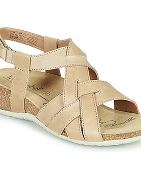 Béžové sandále Josef Seibel