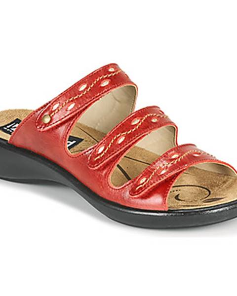 Červené topánky Romika Westland