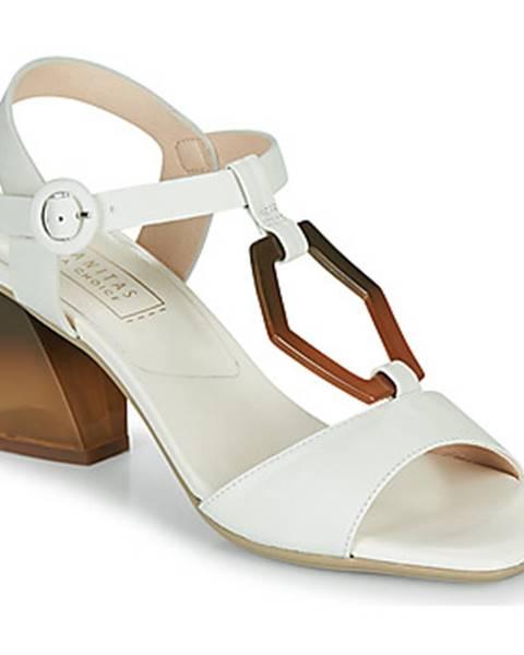 Biele sandále Hispanitas