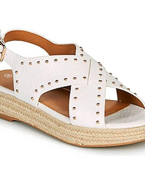 Biele sandále The Divine Factory