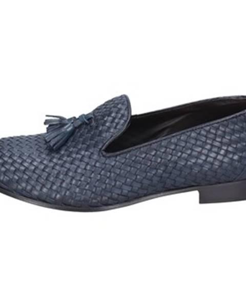 Modré topánky Domisberla