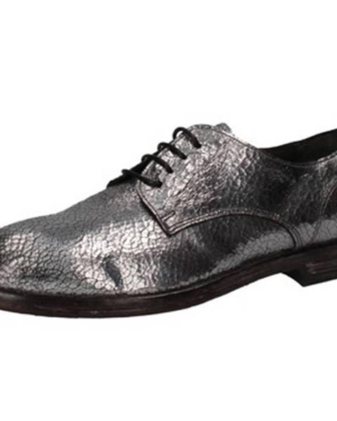 Strieborné topánky Moma