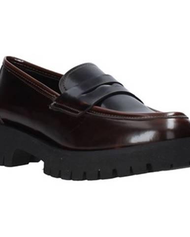 Hnedé mokasíny Grace Shoes