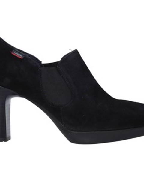 Čierne sandále CallagHan