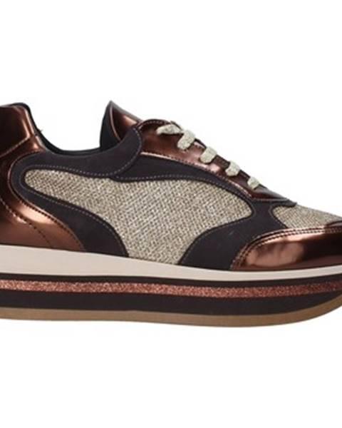 Hnedé tenisky Grace Shoes