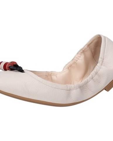 Béžové balerínky Bally Shoes