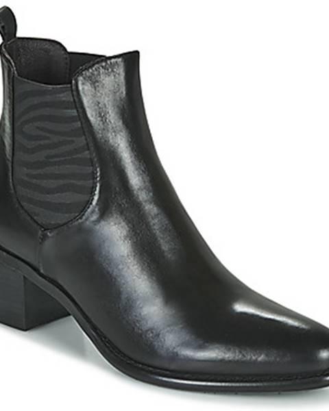 Čierne topánky Adige