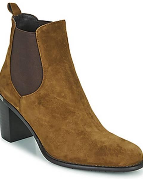 Hnedé topánky Adige