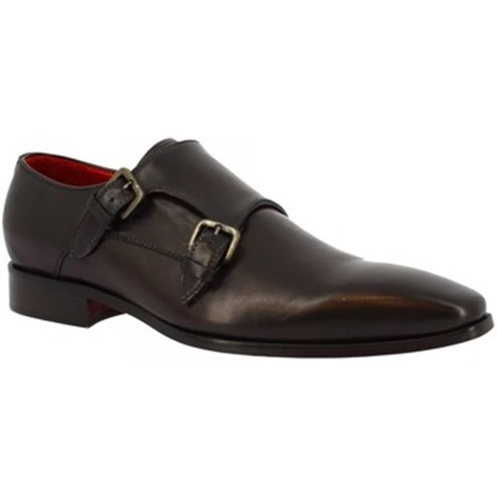 Leonardo Shoes Mokasíny Leonardo Shoes  4372 MONTECARLO NERO